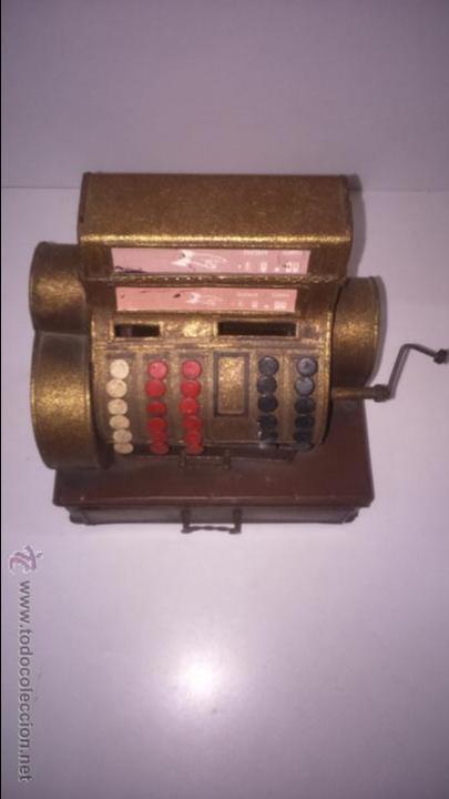 Juguetes antiguos de hojalata: REPLICA DE UNA CAJA REGISTRADORA ANTIGUA - Foto 7 - 48069253