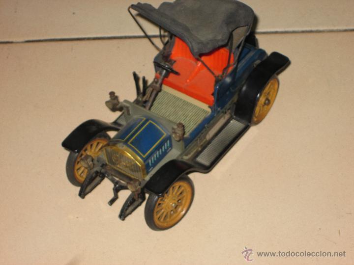 Juguetes antiguos de hojalata: SCHUCO OPEL 1228 Modelo 1909 MADE IN GERMANY - Foto 2 - 48594836