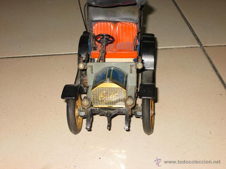 Juguetes antiguos de hojalata: SCHUCO OPEL 1228 Modelo 1909 MADE IN GERMANY - Foto 3 - 48594836