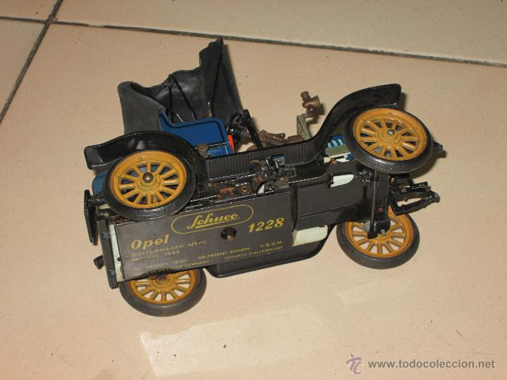 Juguetes antiguos de hojalata: SCHUCO OPEL 1228 Modelo 1909 MADE IN GERMANY - Foto 6 - 48594836