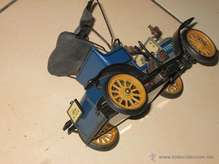 Juguetes antiguos de hojalata: SCHUCO OPEL 1228 Modelo 1909 MADE IN GERMANY - Foto 7 - 48594836