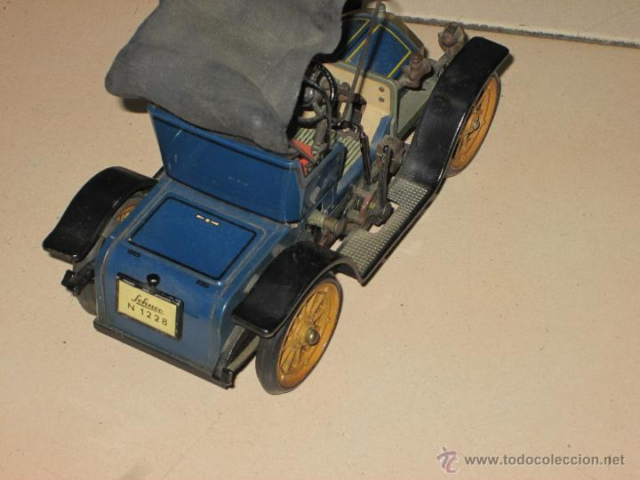 Juguetes antiguos de hojalata: SCHUCO OPEL 1228 Modelo 1909 MADE IN GERMANY - Foto 9 - 48594836