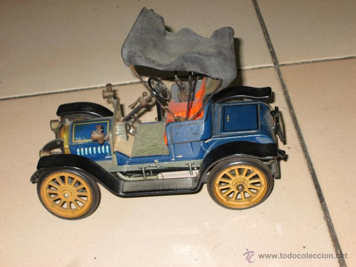 Juguetes antiguos de hojalata: SCHUCO OPEL 1228 Modelo 1909 MADE IN GERMANY - Foto 11 - 48594836