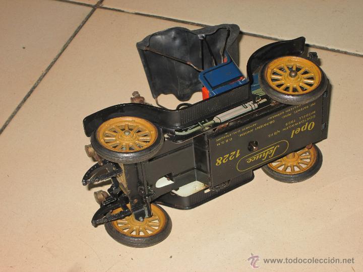 Juguetes antiguos de hojalata: SCHUCO OPEL 1228 Modelo 1909 MADE IN GERMANY - Foto 12 - 48594836