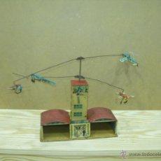 Juguetes antiguos de hojalata: AEROPUERTO HOJALATA. Lote 48921038