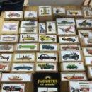 Juguetes antiguos de hojalata: COLECCIÓN COMPLETA JUGUETES DE ANTAÑO DE PAYA. Lote 49418668