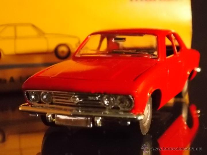 Juguetes antiguos de hojalata: Märklin Opel Manta ROJO / Marklin Opel1:43 // ovp - Foto 2 - 49583466