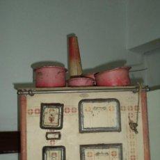 Juguetes antiguos de hojalata: COCINA DE HOJALATA. Lote 49690279
