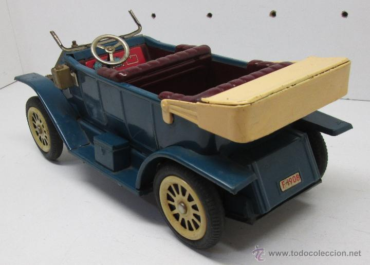 Juguetes antiguos de hojalata: Antiguo coche chapa FORD-T 1908, SUNRISE TOYS, made in Japan años 50 - Foto 2 - 49718769