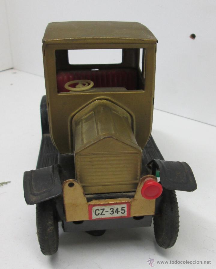 ANTIGUO COCHE CHAPA FORD-T 1908, MADE IN JAPAN AÑOS 50 (Juguetes - Juguetes Antiguos de Hojalata Extranjeros)