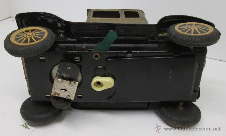 Juguetes antiguos de hojalata: Antiguo coche chapa FORD-T 1908, made in Japan años 50 - Foto 4 - 49718950