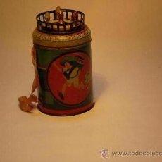 Juguetes antiguos de hojalata: BARQUILLERA RICO . Lote 31023026