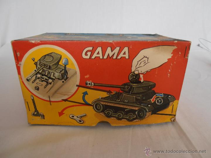 Juguetes antiguos de hojalata: TANQUE GAMA T60 COMPLETO EN CAJA ORIGINAL 60/3/4 TANK MADE IN WEST GERMANY IMPECABLE - Foto 13 - 50257706
