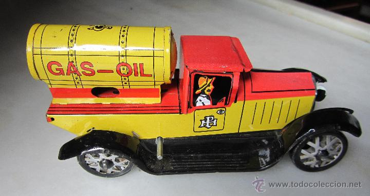 En Cisterna Vendido Coche OilProbable Venta Camión Réplica Gas 3RAL4j5