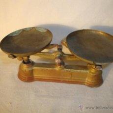 Altes Blechspielzeug - ANTIGUO JUGUETE HIERRO Y HOJA LATA BALANZA, AÑOS 40 - 75412954