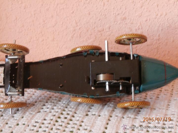 Juguetes antiguos de hojalata: BUGATTI DE PAYA HERMANOS Hojalata Reproducción - Foto 6 - 203981098