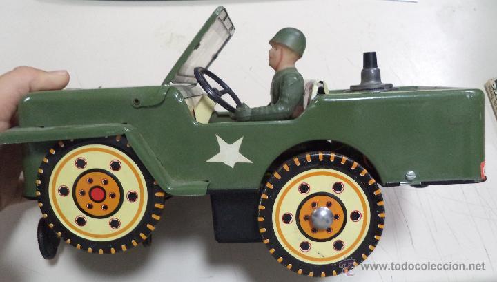 Juguetes antiguos de hojalata: Willy del Ejército,Juguete Marca Clim,hojalata,años 60,juguete incompleto,ver las fotos - Foto 2 - 275316698