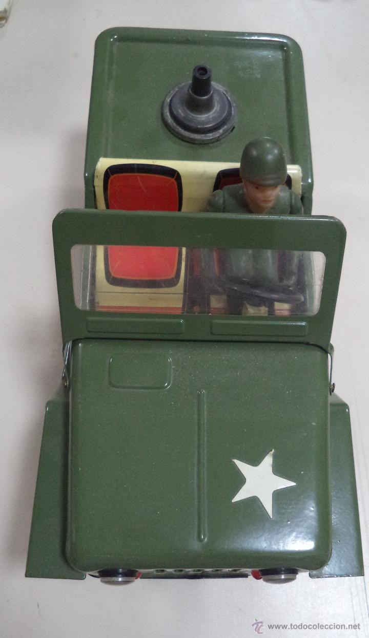 Juguetes antiguos de hojalata: Willy del Ejército,Juguete Marca Clim,hojalata,años 60,juguete incompleto,ver las fotos - Foto 3 - 275316698