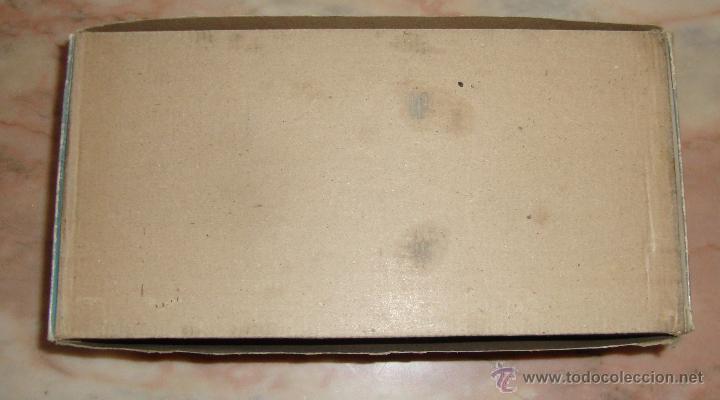 Juguetes antiguos de hojalata: DIFICIL CAJA VACIA DE CAÑON AUTOPROPULSADO ELECTRICO DIRIGIDO REF 296 E DE SANCHIS ORIGINAL - Foto 3 - 50511411