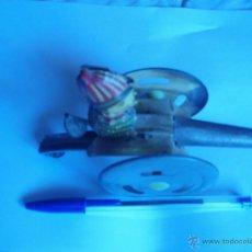 Juguetes antiguos de hojalata: ANTIGUO JUGUETE CAÑON DE HOJALATA AÑOS 30/40. Lote 51025620