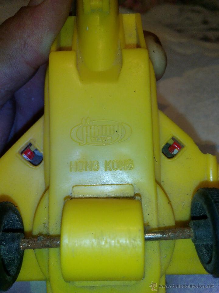 Juguetes antiguos de hojalata: Avión en metal y plástico F15 eagle jimmy toys vintage. - Foto 4 - 51095094