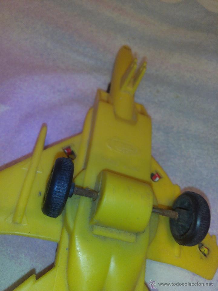 Juguetes antiguos de hojalata: Avión en metal y plástico F15 eagle jimmy toys vintage. - Foto 5 - 51095094