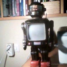 Juguetes antiguos de hojalata: ROBOT JAPONES FUNCIONANDO. Lote 51161160