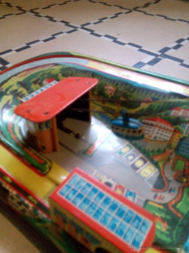 Juguetes antiguos de hojalata: Teleférico Technofix - Foto 2 - 51540199