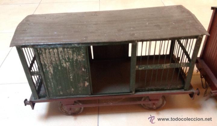 Juguetes antiguos de hojalata: Hispania tren - Foto 2 - 52413198