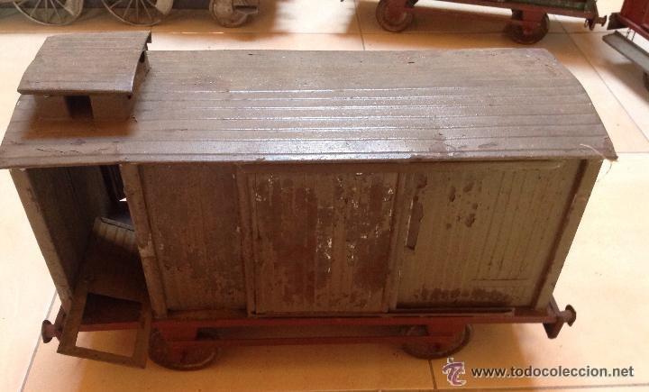 Juguetes antiguos de hojalata: Hispania tren - Foto 3 - 52413198