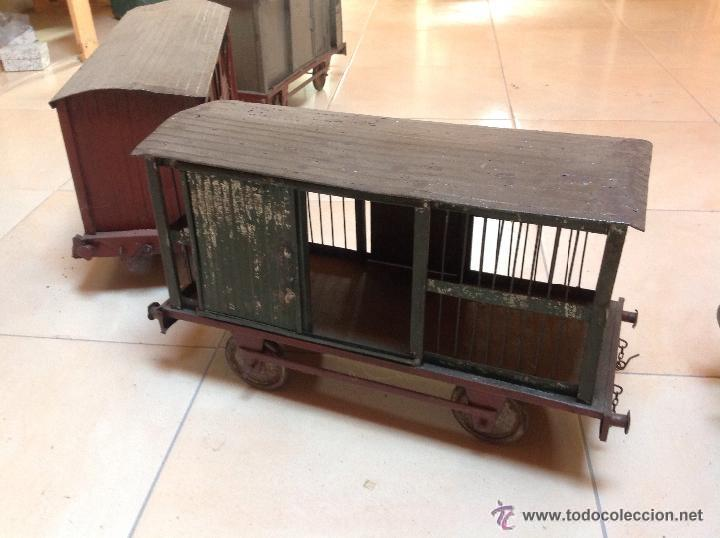 Juguetes antiguos de hojalata: Hispania tren - Foto 5 - 52413198