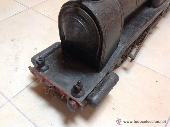 Juguetes antiguos de hojalata: Hispania tren - Foto 15 - 52413198