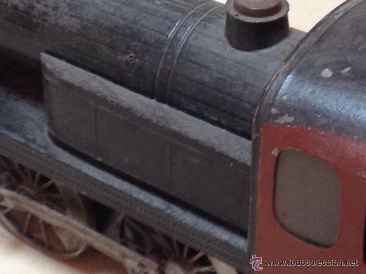 Juguetes antiguos de hojalata: Hispania tren - Foto 17 - 52413198