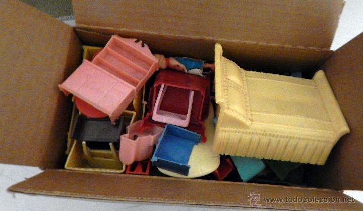 Juguetes antiguos de hojalata: CASA MUÑECAS HOJALATA Por T. Cohn, Estados Unidos 1940 GRANDES DIMENSIONES Precio: 380,00 - Foto 5 - 52676710