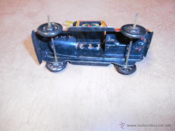 Juguetes antiguos de hojalata: CAMIÓN BOMBEROS HOJALATA PAYA ORIGINAL AÑOS 20 - Foto 2 - 52704528