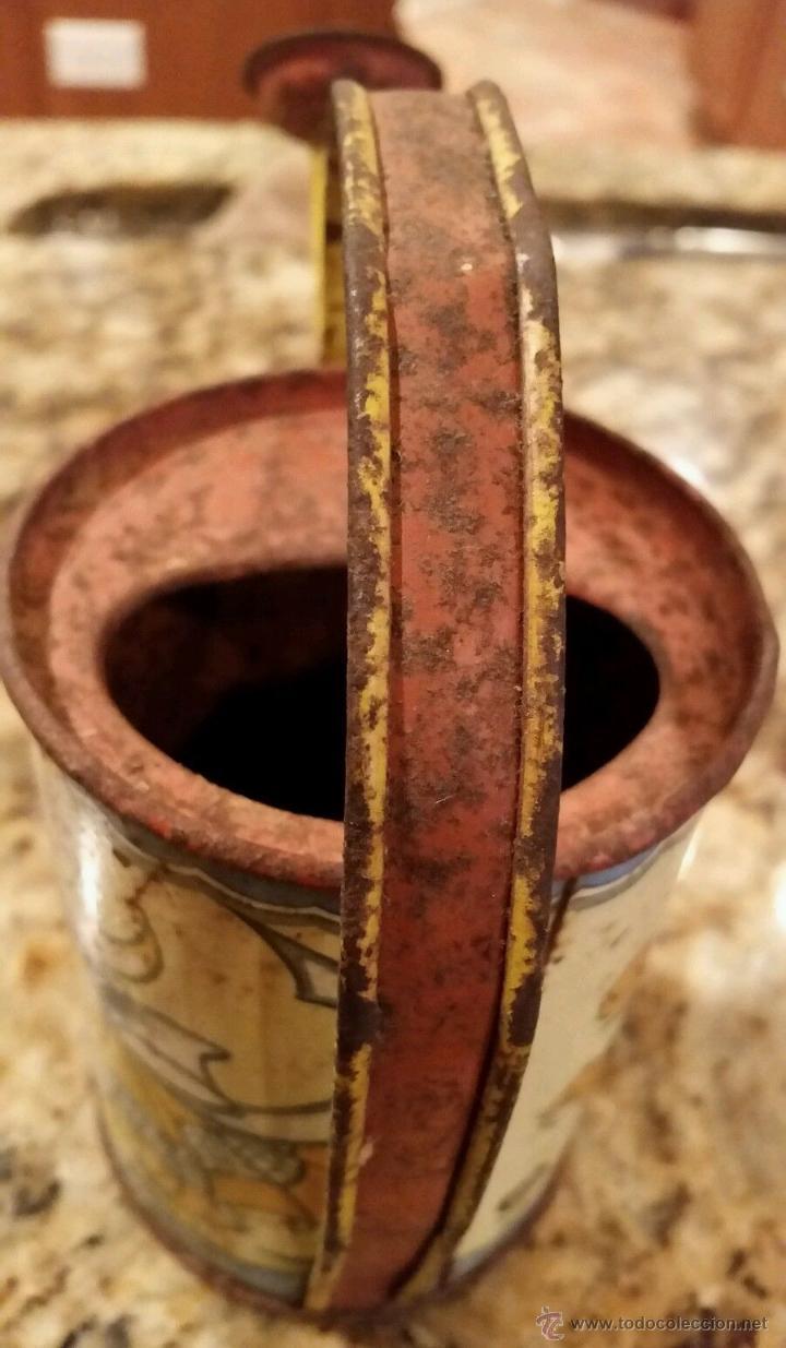 Juguetes antiguos de hojalata: ANTIGUA REGADERA HOJALATA LITOGRAFIADA WALT DISNEY AÑO 1938 ..FIRMADA - Foto 5 - 52849901