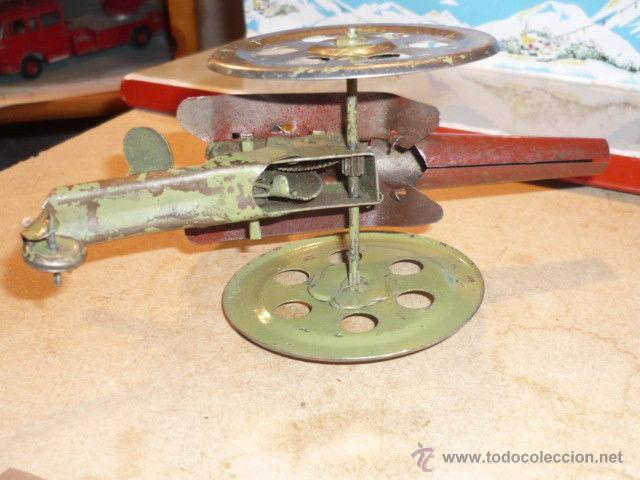 Juguetes antiguos de hojalata: ANTIGUO CAÑON HOJALATA MADE GERMAN BING LEHMANN ARNOLD ? SIMIL PAYA - Foto 2 - 53026822