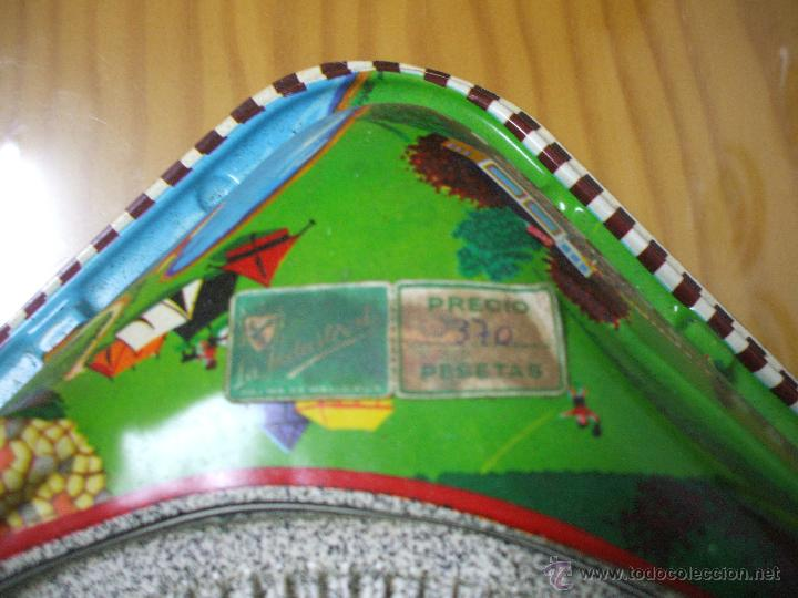 Juguetes antiguos de hojalata: MARKE TECHNOFIX 312 ROCKY MOUNTAINS TRAIN, CIRCUITO DE HOJALATA JUGUETE ALEMAN AÑOS 60 * MUY RARO * - Foto 11 - 53088094