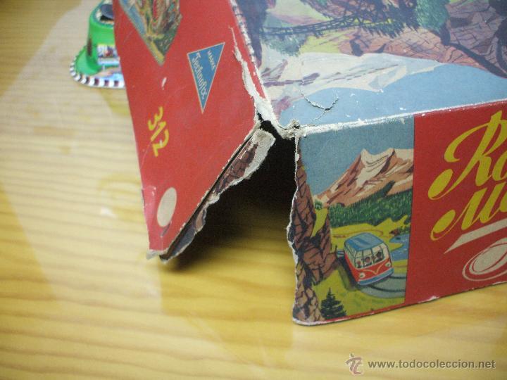 Juguetes antiguos de hojalata: MARKE TECHNOFIX 312 ROCKY MOUNTAINS TRAIN, CIRCUITO DE HOJALATA JUGUETE ALEMAN AÑOS 60 * MUY RARO * - Foto 22 - 53088094