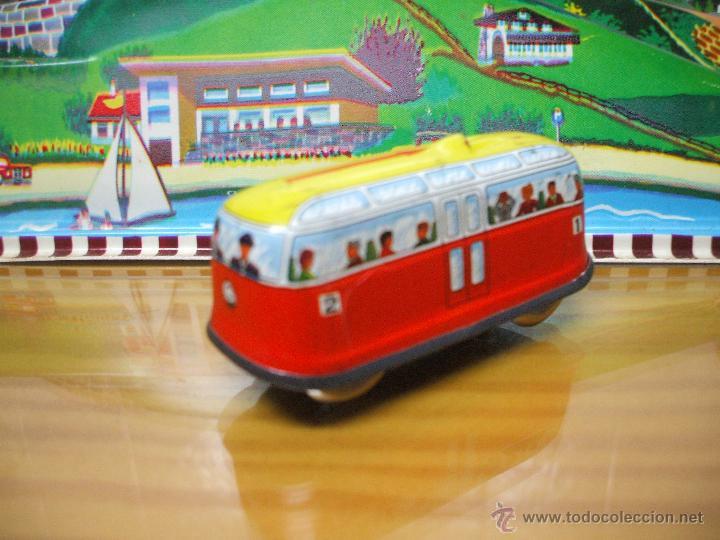 Juguetes antiguos de hojalata: MARKE TECHNOFIX 312 ROCKY MOUNTAINS TRAIN, CIRCUITO DE HOJALATA JUGUETE ALEMAN AÑOS 60 * MUY RARO * - Foto 25 - 53088094