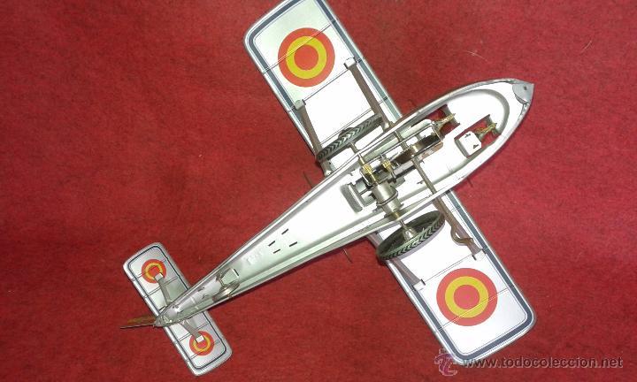 Juguetes antiguos de hojalata: Hidroavion Plus Ultra de Paya. Serie limitada 5000 unidades. Avion Paya SCVL. - Foto 4 - 53270257