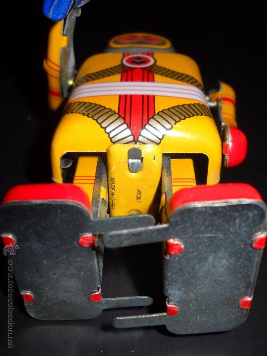 Juguetes antiguos de hojalata: robot a cuerda - Foto 3 - 53401506