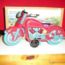Juguetes antiguos de hojalata: MOTOCICLETA DE FRICCION. Lote 53423016