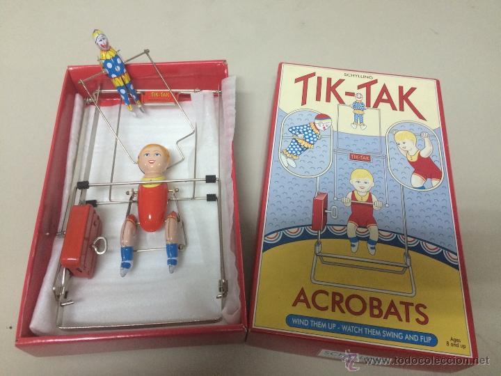 TIK-TAK ACROBATS DE SCHYLLING (Juguetes - Juguetes de Hojalata: Reproducciones y Actuales )
