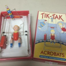 Juguetes antiguos de hojalata: TIK-TAK ACROBATS DE SCHYLLING. Lote 55383429