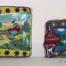 Juguetes antiguos de hojalata: *PALA (2) DE HOJALATA -REY-, AÑOS 40-50*. Lote 54305402