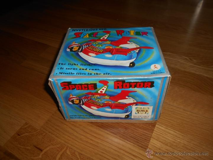 Juguetes antiguos de hojalata: Space Rotor Glider Goldrake Goldorak VINTAGE TIN TOYS AÑOS 70-80 MAZINGUER Z ANIME - Foto 2 - 54557724