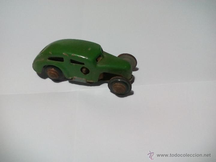 Juguetes antiguos de hojalata: CKO No. 363 Made in us zone Germany Antiguo Coche de hojalata. Años 40 Kellermann, Miniature tin Car - Foto 2 - 54589166