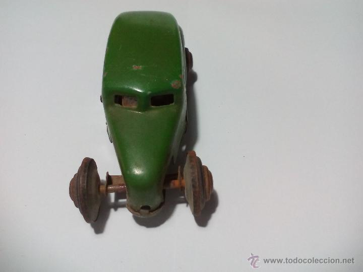 Juguetes antiguos de hojalata: CKO No. 363 Made in us zone Germany Antiguo Coche de hojalata. Años 40 Kellermann, Miniature tin Car - Foto 3 - 54589166