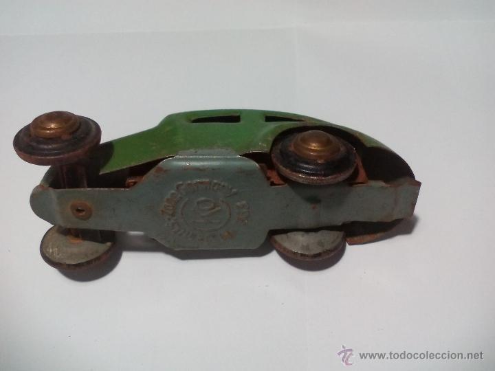 Juguetes antiguos de hojalata: CKO No. 363 Made in us zone Germany Antiguo Coche de hojalata. Años 40 Kellermann, Miniature tin Car - Foto 5 - 54589166